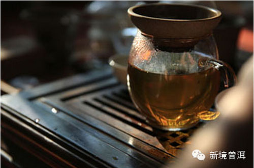 今生,缘定普洱茶