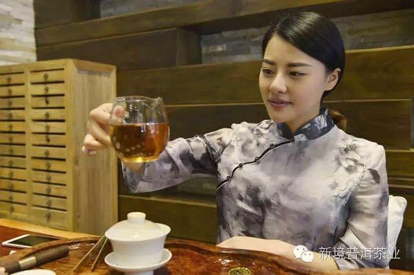 去深圳,找这样一位美女老板喝茶--新境普洱茶业深圳龙岗